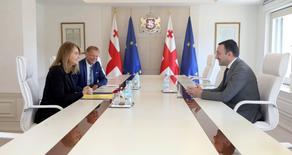 პრემიერ-მინისტრი Rothschild & Co- ის მმართველ დირექტორს შეხვდა