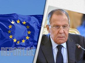 ევროკავშირმა რუსეთთან ურთიერთობები გაანადგურა - ლავროვი