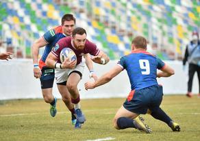 Georgia  Russia rugby match ends 16:7