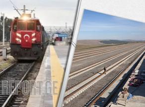 В Китай по железной дороге Баку-Тбилиси-Карс прибыл первый поезд
