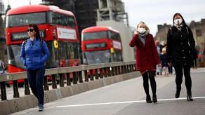 В Великобритании за сутки от коронавируса скончались 616 человек