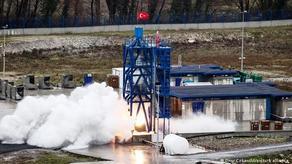 Турция испытала гибридный двигатель ракеты для миссии к Луне