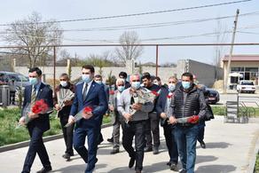 Азербайджанские дипломаты почтили память погибших 9 апреля