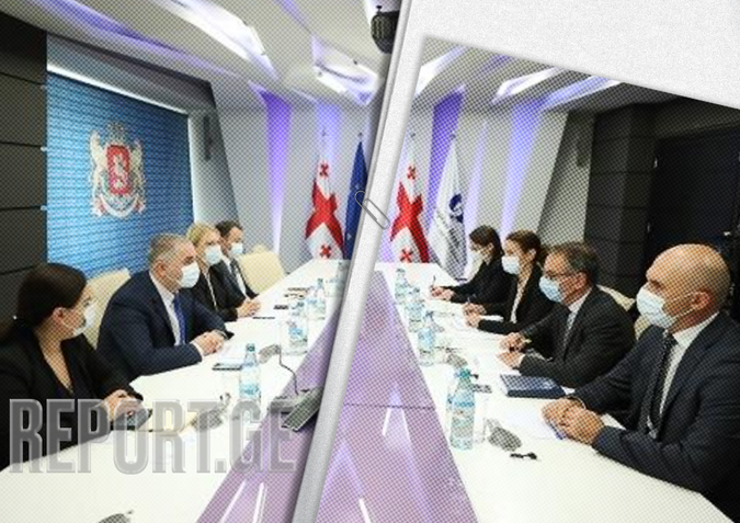 ფინანსთა და ეკონომიკის მინისტრები EBRD-ის მმართველ დირექტორს შეხვდნენ