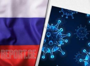В России выявили 8442 новых случая COVID-19