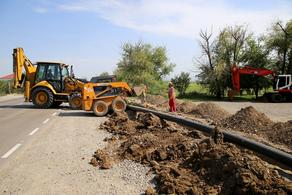В Марнеули строится новая водопроводная сеть питьевой воды