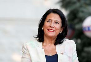 Саломе Зурабишвили: Поздравляю Важу Маргвелашвили с достойной победой
