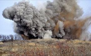 Armenian man blew up on mine in Karabakh