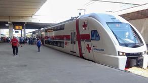 Возобновились железнодорожные пассажирские перевозки
