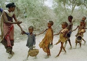 აფრიკაში 50 მილიონ ადამიანს შიმშილობა ელის