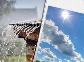 Tomorrow's forecast Georgia: Rain in most parts, seasonable temps