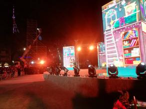 Concert underway at Republic Square - PHOTO