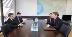 Бидзина Иванишвили провел встречу с послом Великобритании