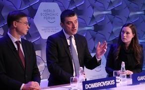 PM presents Georgia as free trade area at World Economic Forum