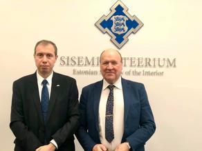 საქართველოს ელჩი და ესტონეთის შს მინისტრი მჭიდრო თანამშრომლობაზე შეთანხმდნენ