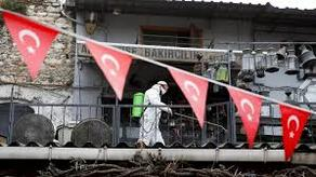 Turkey's coronavirus death toll rises by 48 to 3,689, with 1,848 cases
