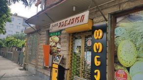 В Кутаиси неизвестные с ножом ограбили маркет