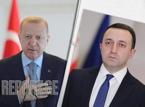 Состоялся телефонный разговор премьера Грузии с президентом Турции