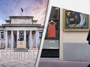 Prado Museum displays copies of the works of artists throughout Madrid