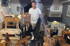 მექსიკელი გმირი, რომელმაც ქარიშხლისას 300 ძაღლი შეიფარა
