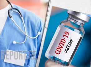 Percentage of doctors vaccinated in Georgia