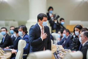 Арчил Талаквадзе покинул пост председателя парламента Грузии