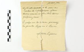 ნაპოვნია წერილი, რომელიც შესაძლოა, ტიტანიკიდან კატასტროფის წინ გადმოეგდოთ