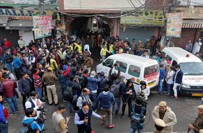 ინდოეთში დამწვარი საწარმოს მეპატრონე და მენეჯერი დააკავეს