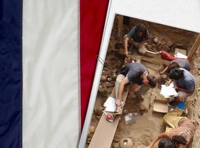 საფრანგეთში არქეოლოგებმა მე-2 საუკუნის ღვინის ჭურჭელი აღმოაჩინეს