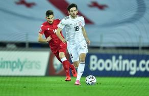 Сборная Грузии обыграла Беларусь со счетом 1:0