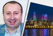 Давид Ликликадзе: Хочу написать об этом красивейшем городе на берегу Каспийского моря и азербайджанском народе
