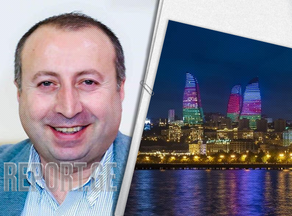 Davit Liklikadze: I want to write about this beautiful city of the Caspian Sea and the people of Azerbaijan