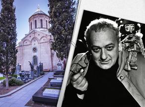 Резо Габриадзе похоронили в Пантеоне Мтацминда