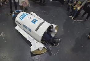 На Comic Con перевернулся робот - ВИДЕО