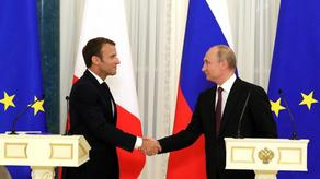 Macron and Putin had phone conversation