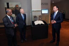 პრემიერ-მინისტრმა გაეროს არტ-კოლექციას ვეფხისტყაოსნის სამუზეუმო ეგზემპლარი გადასცა