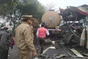 ინდოეთში ავარიის შედეგად 7 ადამიანი დაიღუპა, 25 კი დაშავდა