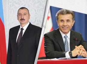 President Aliyev congratulates Bidzina Ivanishvili on winning elections