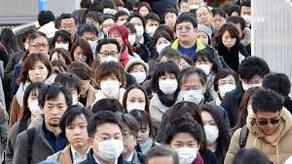 იაპონიაში სიცხეში ქუჩაში პირბადეების მოხსნისკენ მოუწოდებენ