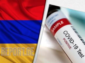 В Армении выявлено 1177 новых случаев инфицирования COVID-19