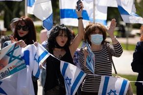 В Тбилиси и Батуми прошла акция солидарности с Израилем - ФОТО