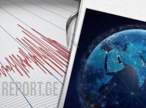 В Азербайджане произошло два землетрясения