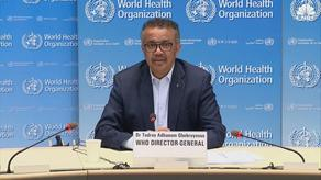 WHO Director-General: Coronavirus pandemic intensifies worldwide