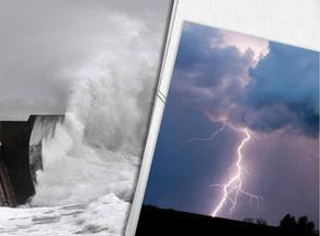 წვიმა, სეტყვა, ძლიერი ქარი და ზღვის ღელვა - ამინდი მკვეთრად გაუარსდება