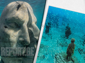 В Каннах открылся бесплатный музей подводного искусства