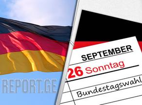 Социал-демократы лидируют на парламентских выборах в Германии