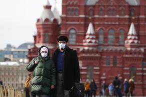 რუსეთში COVID-19-ით ერთ დღეში  8 855 ადამიანი დაინფიცირდა