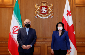 სალომე ზურაბიშვილი ირანის საგარეო საქმეთა მინისტრს შეხვდა
