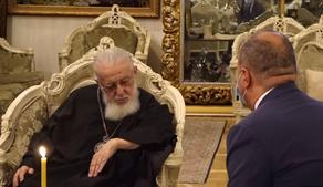 Patriarch of all Georgia hosts Director General of SOCAR Energy Georgia, Mahir Mammedov