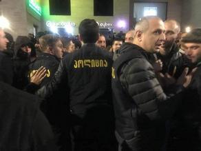 На проходящей акции возле кинотеатра Амирани задержано еще несколько человек